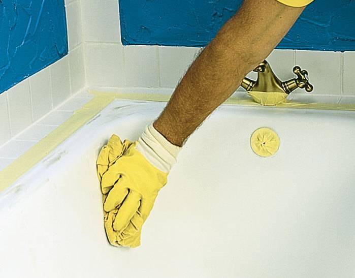Краска для чугунной ванны: как и чем можно покрасить в домашних условиях, инструкция, видео и фото краска для чугунной ванны: как и чем можно покрасить в домашних условиях, инструкция, видео и фото