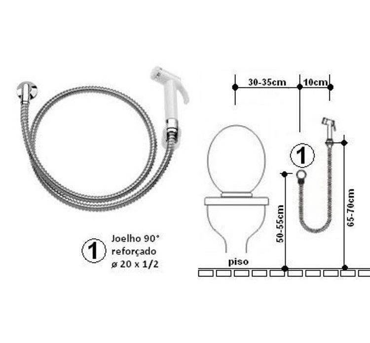 Гигиенический душ для унитаза со смесителем - разновидности, выбор, установка