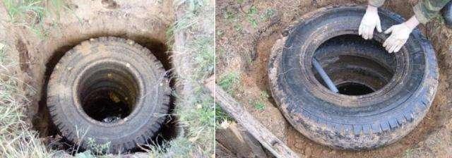 Как сделать сливную яму из покрышек своими руками: инструкция +фото и видео