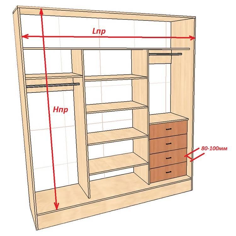Как сделать шкаф своими руками: пошаговая инструкция