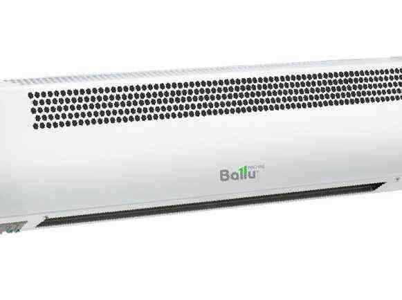 Тепловая завеса ballu - обзор характеристик и преимуществ