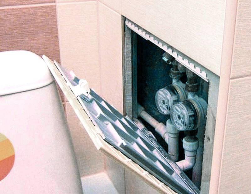 Как сделать короб и спрятать трубы в ванной комнате: примеры работ и полезные советы
