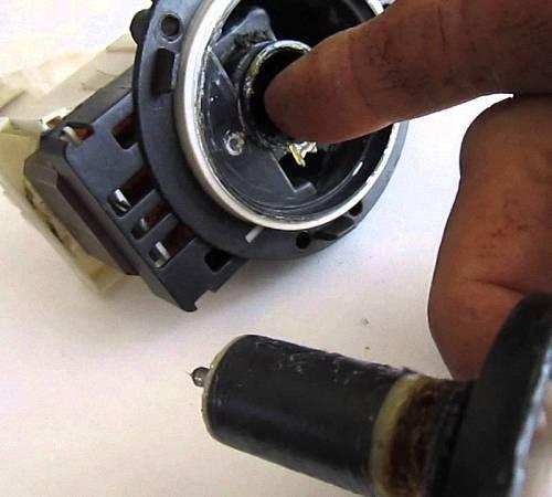 Ремонт помпы стиральной машины и коды ошибок