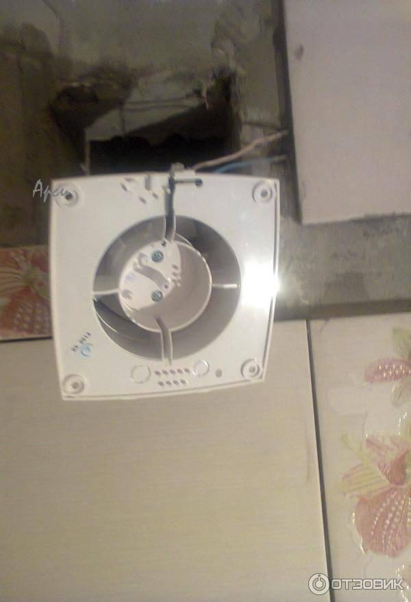 Чистка вытяжного вентилятора в ванной, снятие, установка, подключение, чистка смазка двигателя