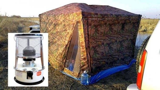 Обогреватели для палаток: виды, характеристики, достоинства и недостатки