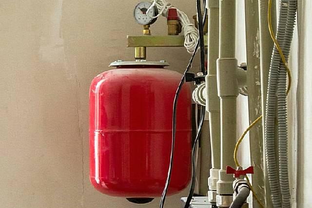 Расширительный бак для отопления закрытого типа установка давление