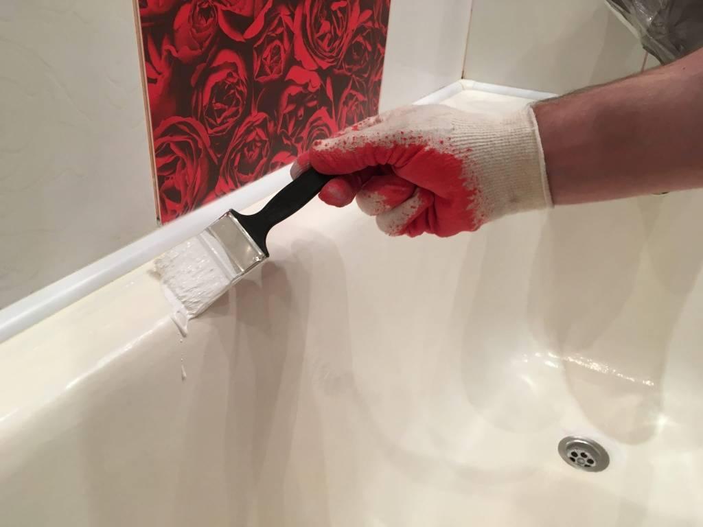 Как обновить ванну: способы реставрации старой ванны