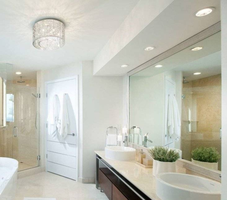 Какой светильник выбрать для ванной - 5 правил и обзор моделей.