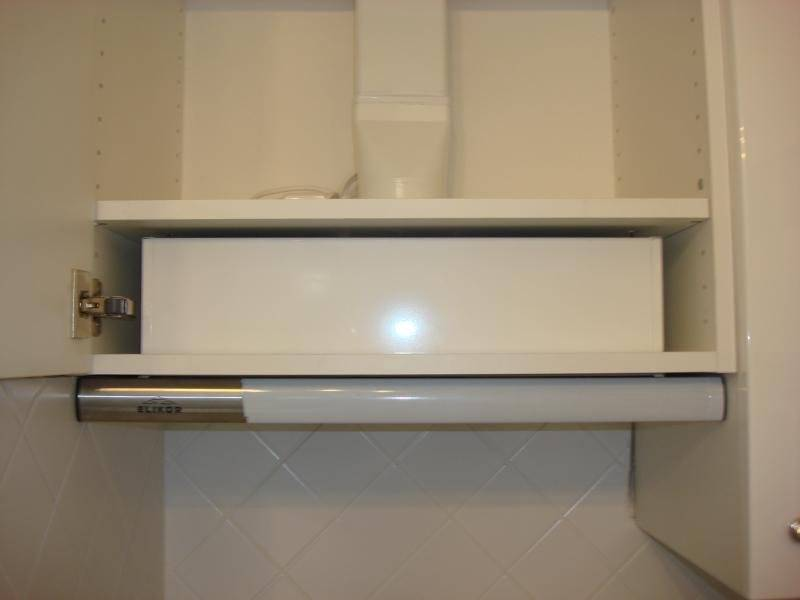 Разновидности встраиваемых в шкаф вытяжек, их основные преимущества
