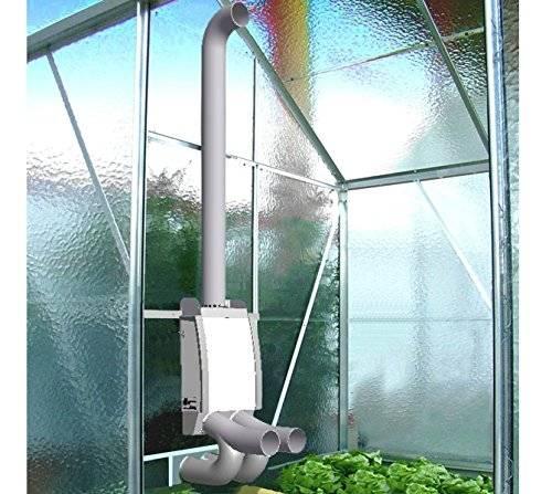 Обогреваемые теплицы из поликарбоната: печное, инфракрасное и водяное отопление зимой своими руками