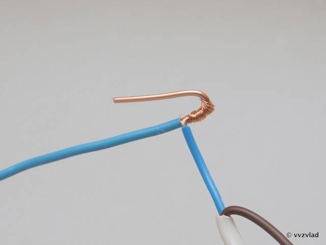 Различные варианты соединения многожильных проводов. как подключить многожильный провод или соединить его с одножильным?