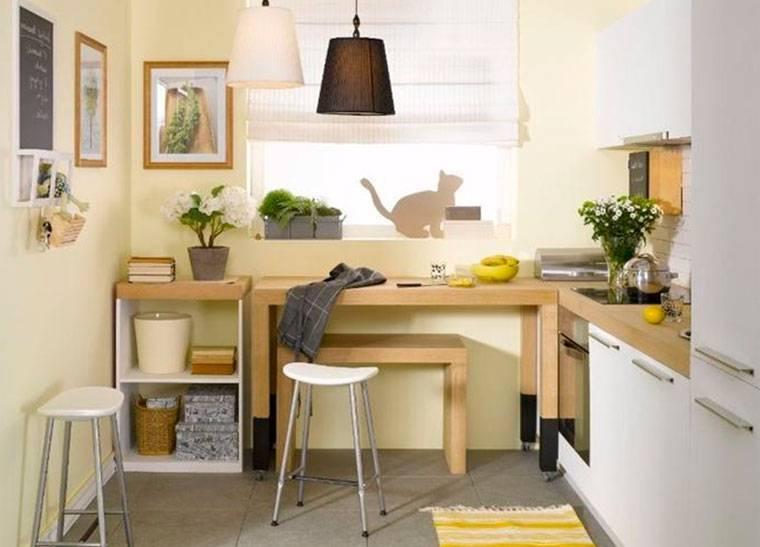Дизайн маленькой кухни: 7 ошибок и множество идей