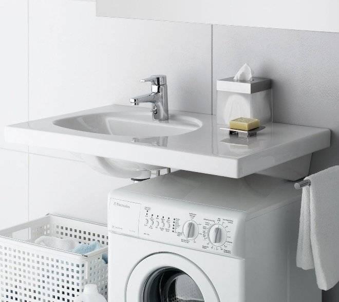 Раковина над стиральной машиной: виды и материалы, плюсы и минусы, установка, рекомендации