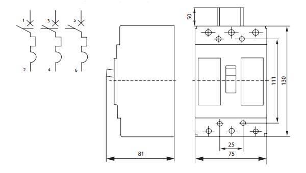 Чем отличается однополюсный сдвоенный выключатель от двухполюсного?