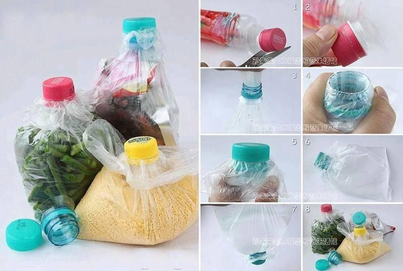 Поделки из пластиковых бутылок для дачи или необычное повторное использование пластиковых бутылок в быту
