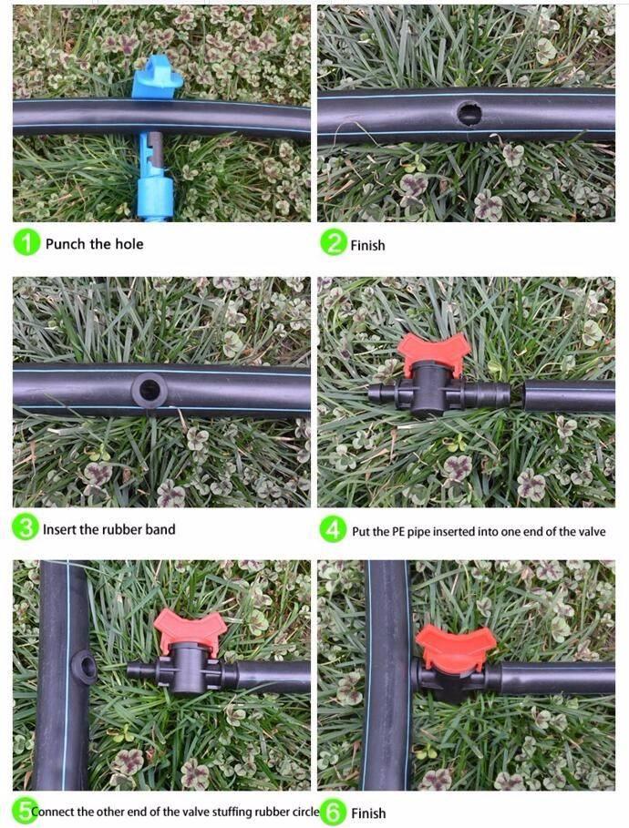 Полив огорода из полипропиленовых труб. какие трубы можно использовать для монтажа системы полива