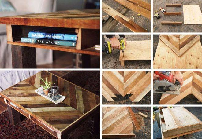 Мебель из поддонов своими руками, 105 фото и идей