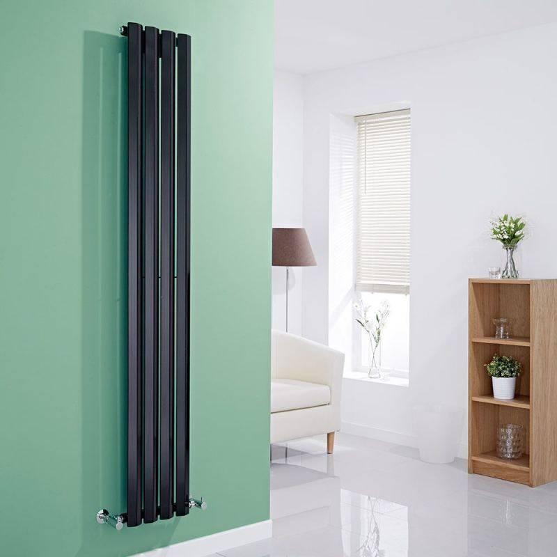 Вертикальные радиаторы отопления - особенности монтажа и характеристики