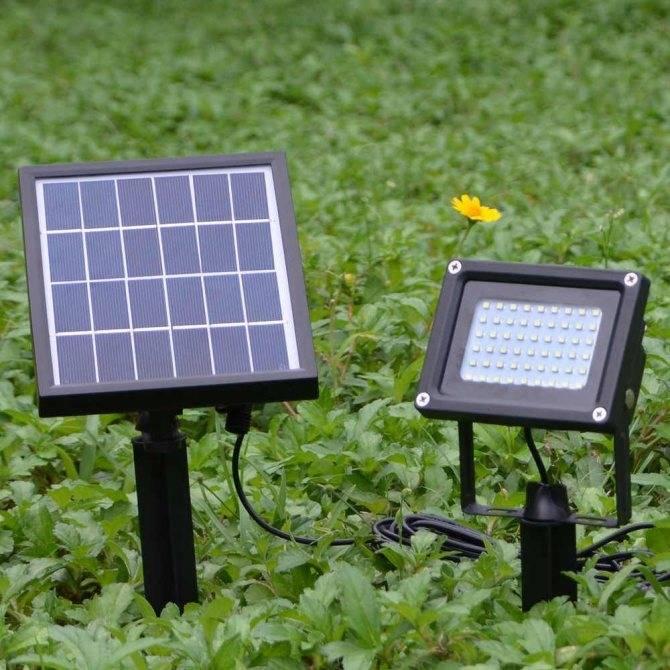 Уличное освещение на солнечных батареях - принцип действия, применение, идеи