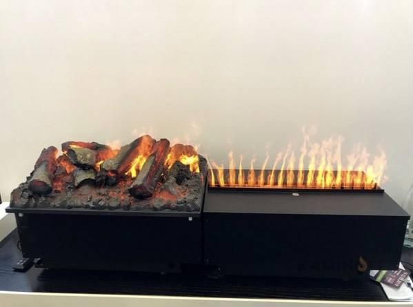 Электрические камины с эффектом живого огня