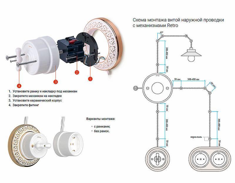 Электропроводка в деревянном доме: пошаговая инструкция с фото