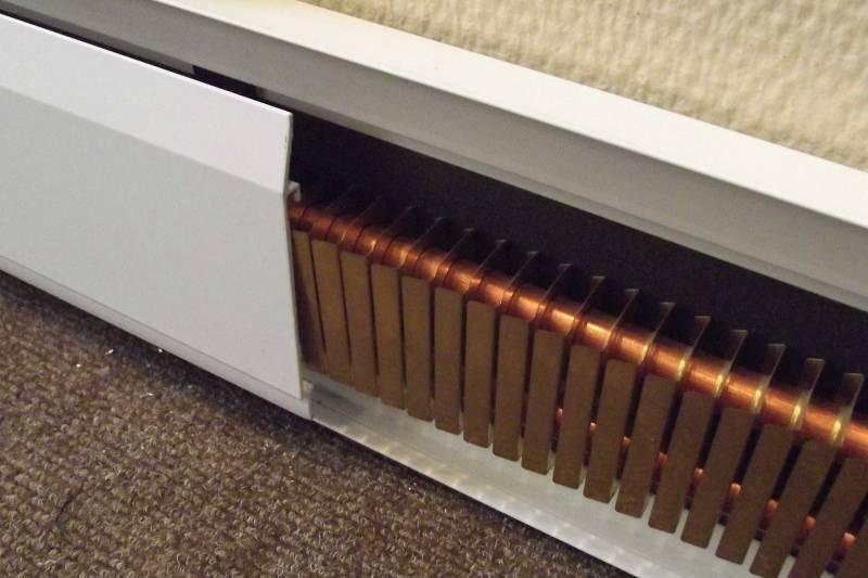 Особенности плинтусных обогревателей электрических виды, выбор, применение теплых плинтусов
