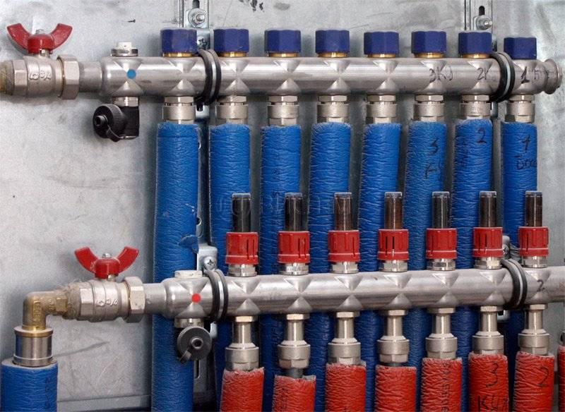 Гребенка для отопления (распределительный коллектор) – виды и принцип работы