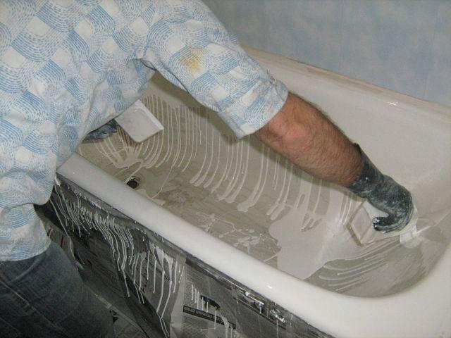 Как обновить чугунную ванну - все о канализации