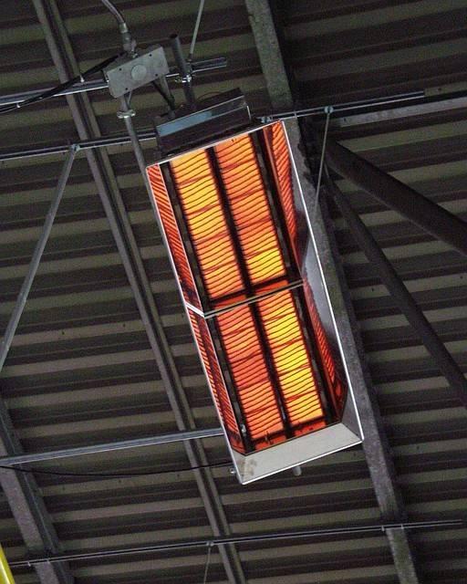 Газовые инфракрасные излучатели для промышленных помещений: виды, принцип работы, обзор брендов