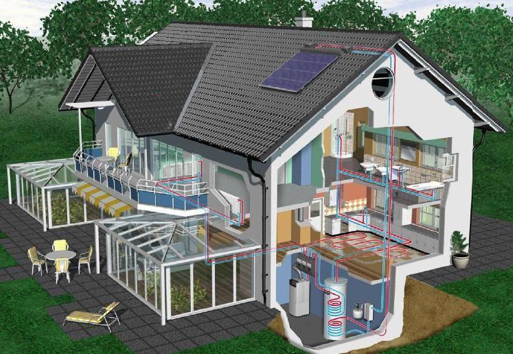 Проектирование отопления дома пошагово