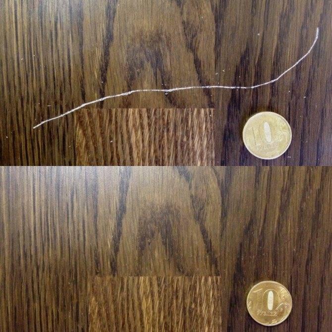 Как удалить царапины с лакированной мебели? - все про мебель