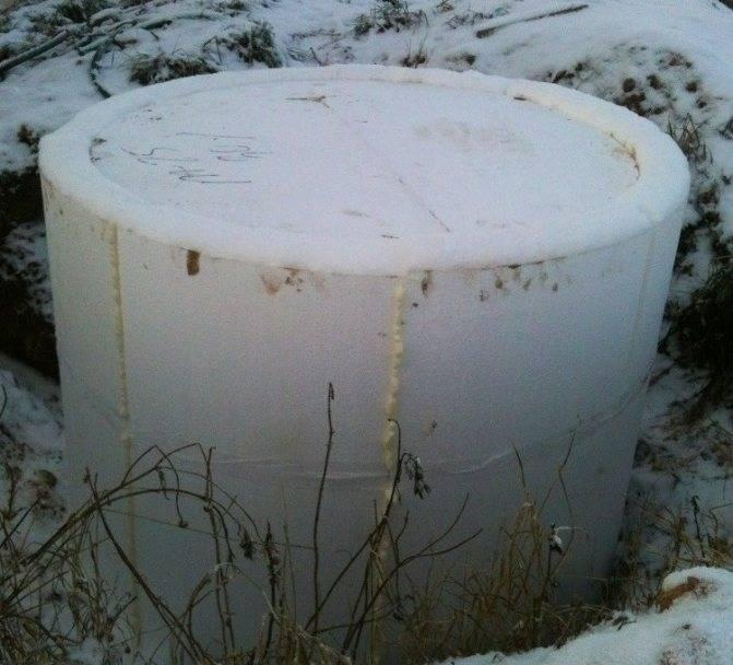 Как правильно утеплить колодец на зиму