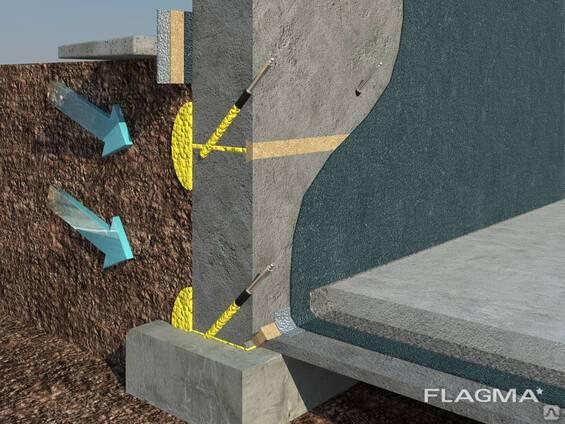 Инъектирование бетона: технология, материалы для инъекции