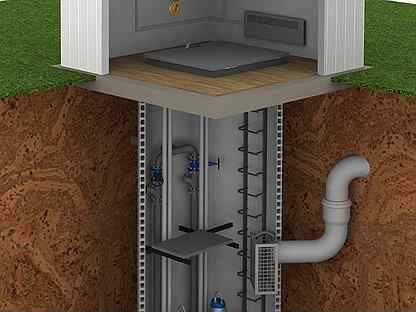 Станция кнс (канализационная насосна станция) — преимущества, правила выбора