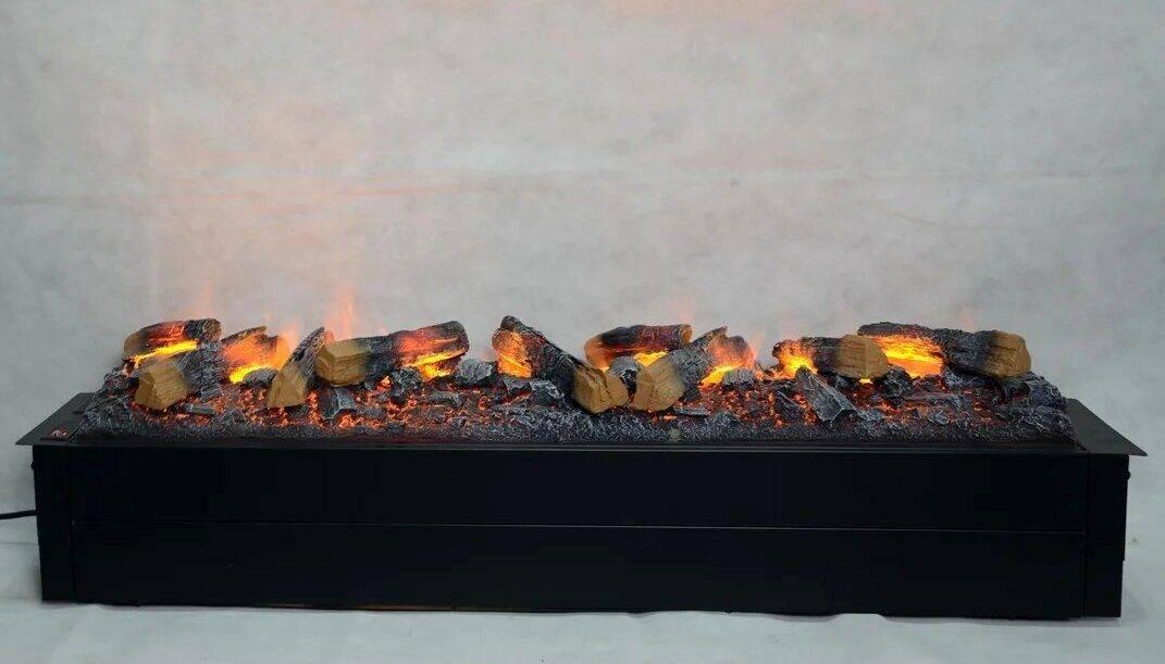 Как выбрать настенный электрокамин с эффектом живого огня
