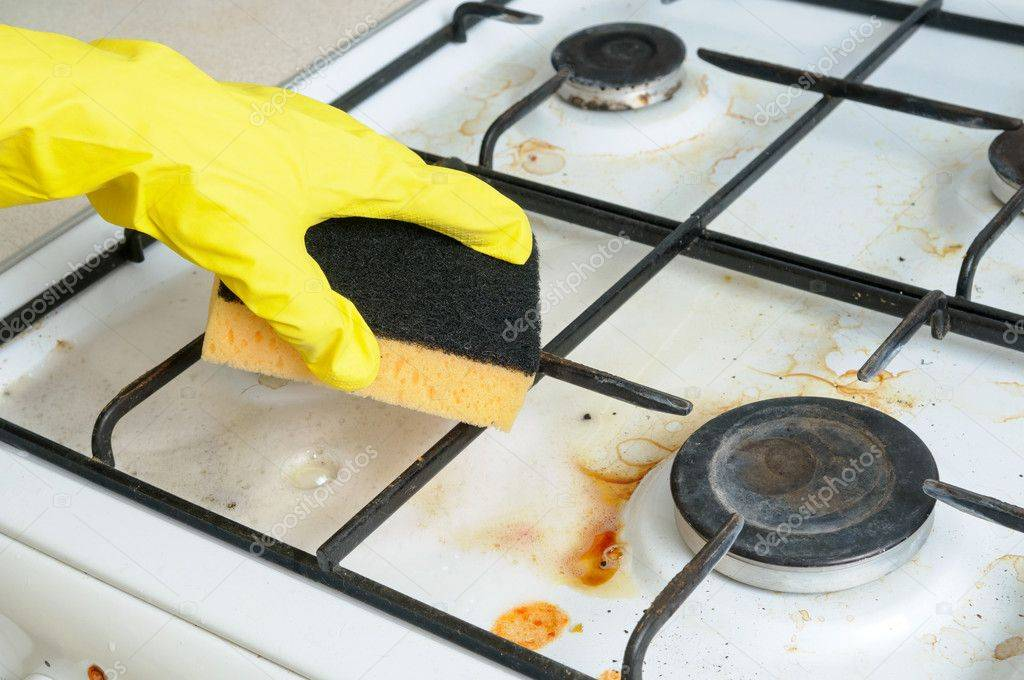 Как очистить решетку газовой плиты – теория и практика домоводства