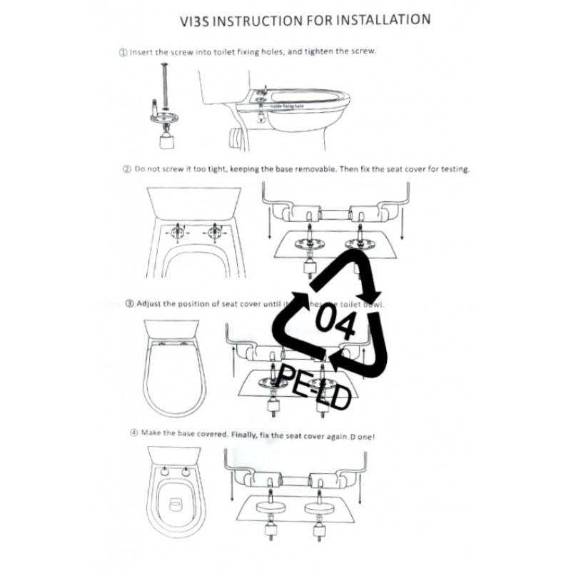 Ремонт крышки унитаза и сиденья: как починить, закрепить и склеить