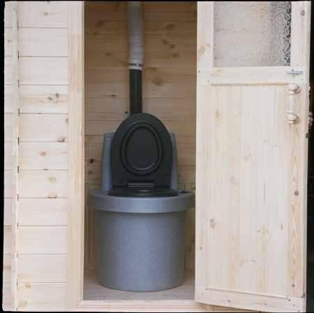 Торфяной биотуалет для дачи: принцип конструкции, как работает, преимущества туалета
