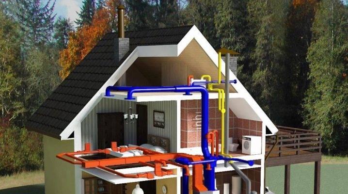 Этапы проектирования системы отопления в частном доме: мощность приборов