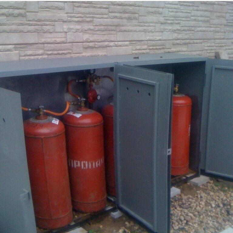 Отопление сжиженным газом загородного дома газовыми баллонами