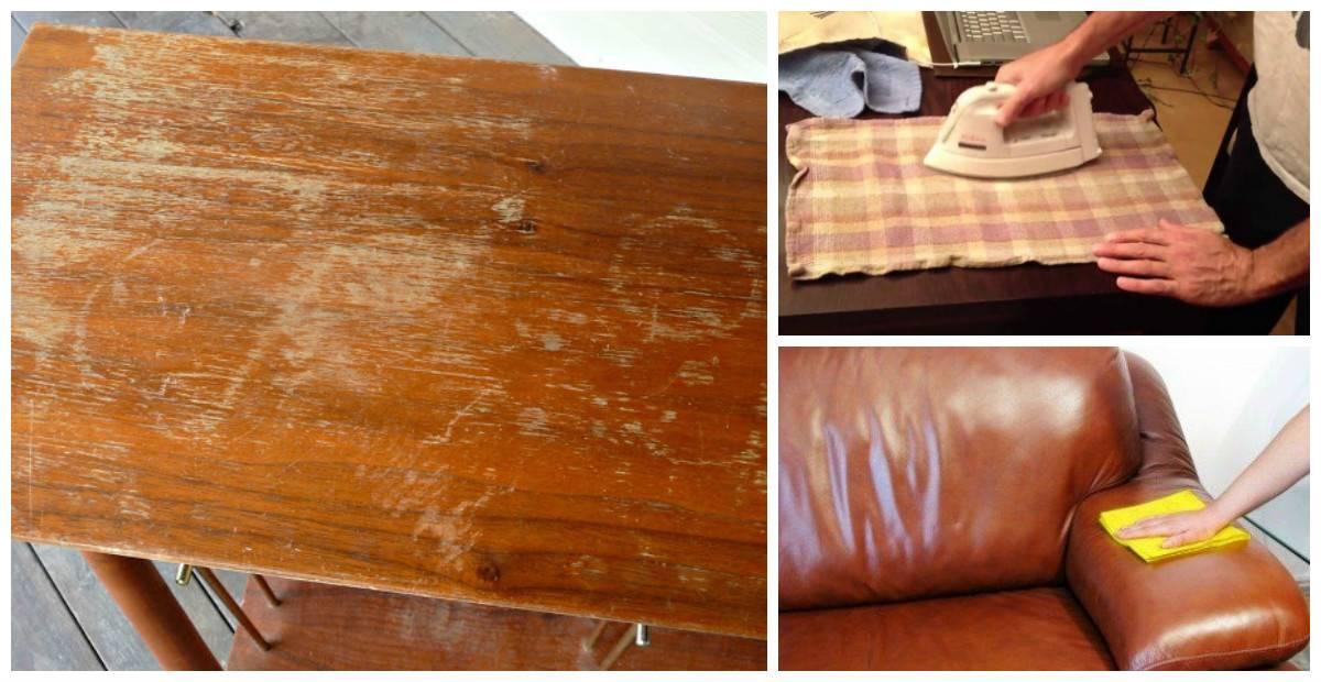 8 эффективных средств для устранения царапин с мебели
