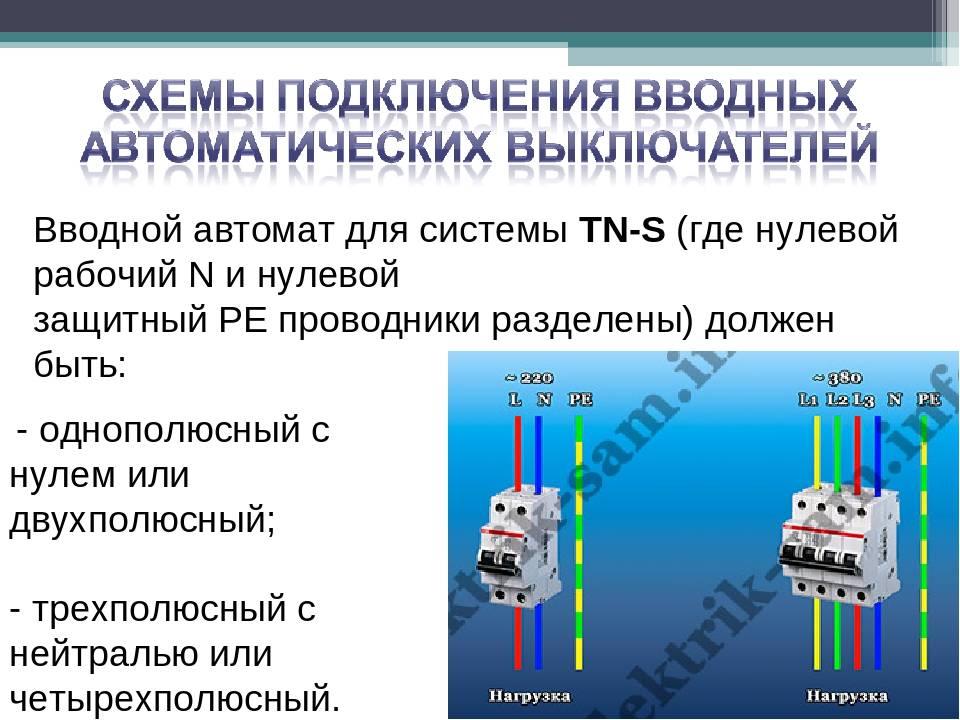 Чем отличается однополюсный автомат от двухполюсного