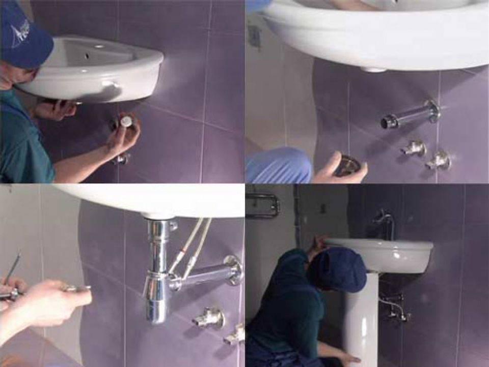 Как установить тумбу с раковиной в ванной: пошаговая инструкция
