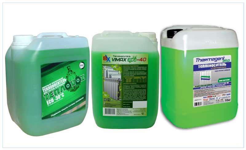 Теплоноситель для системы отопления загородного дома: выбор и применение