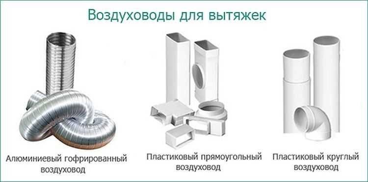 Воздуховоды пластиковые для вентиляции и кухни (вытяжки): виды, размеры, схема монтажа