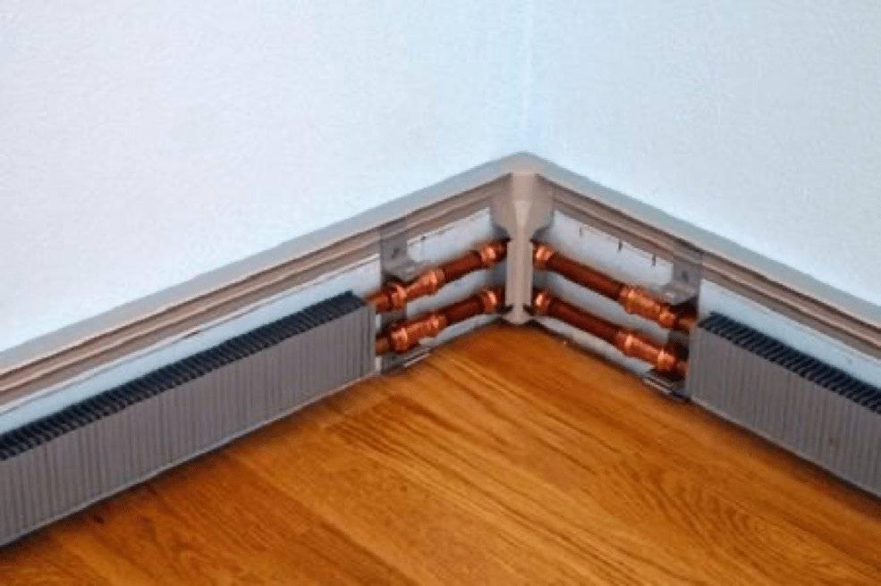 Водяной и электрический теплый плинтус: отзывы владельцев