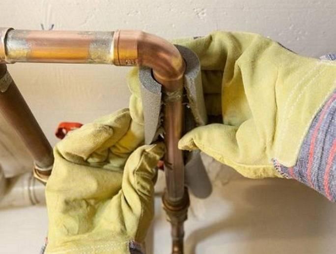 Варианты утепления газовых труб