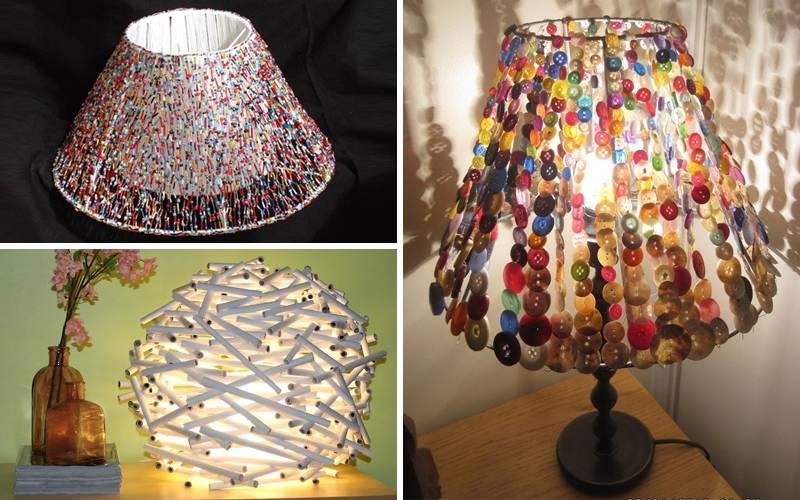 Абажур своими руками: мастер-класс по созданию оригинального дизайна для ламп (80 фото-идей)