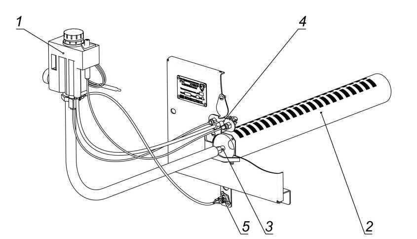 Установка датчика тяги газового котла