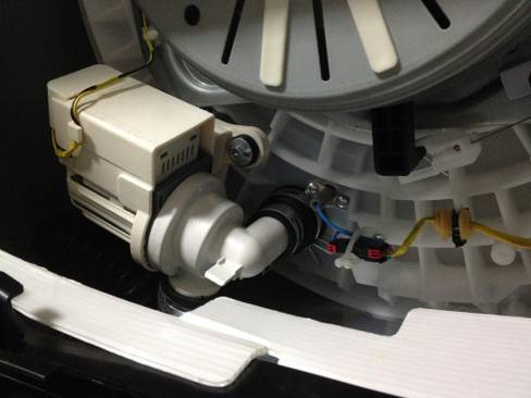 Замена насоса стиральной машины — инструкция